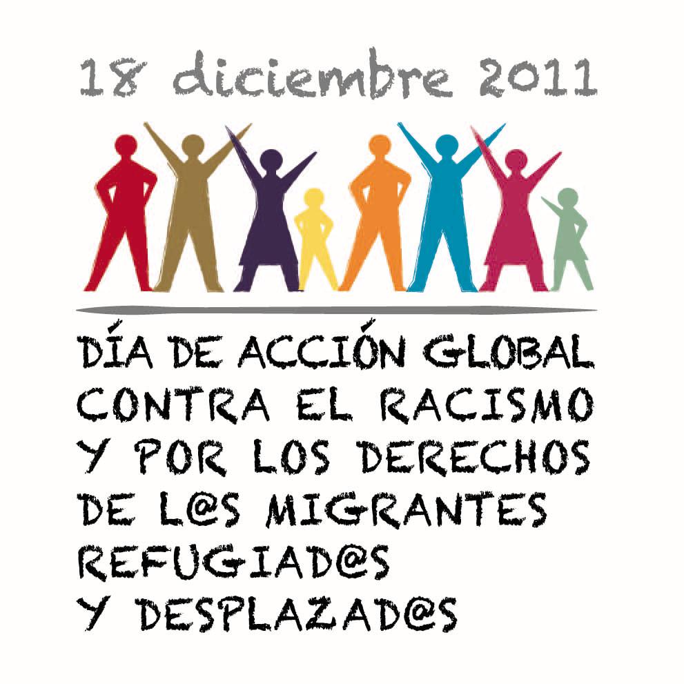 Día de acción global contr el racismo y por los derechos...